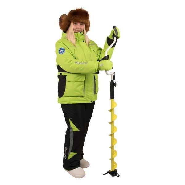 женский костюм для зимней рыбалки zabava