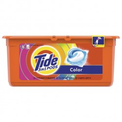 Капсулы для стирки Tide Color 30 шт по 24,8 г
