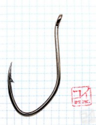 Крючок Koi Cat Fish Hook № 10/0 , BN (3 шт.) KH9183-10/0BN