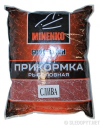 Прикормка Minenko Good Catch слива, 700г 4315